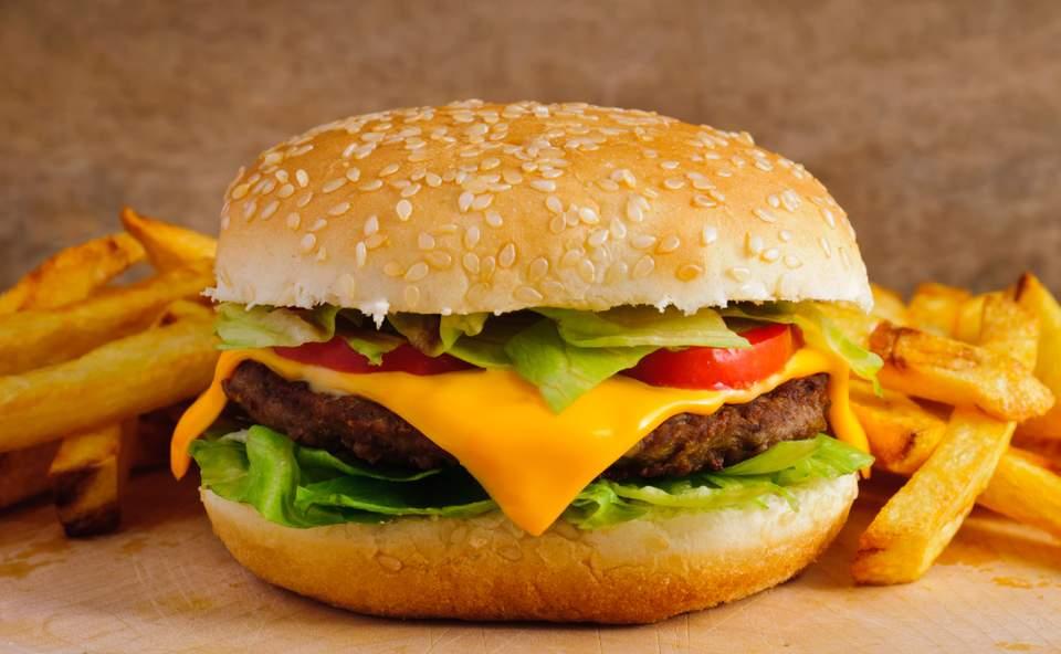 cheese burger montbrison